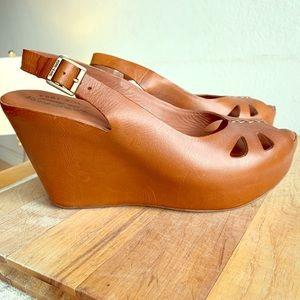 Kork-Ease Felicia Platform Slingback Sandal